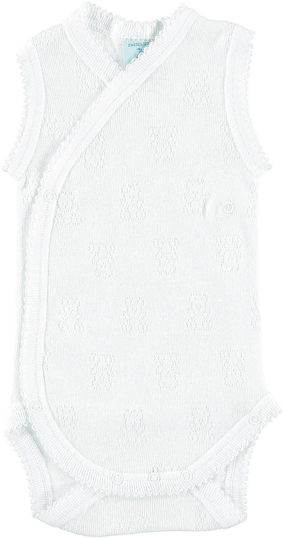 BABIDU Baby Girls' Body Tirante Cruzado Calado Ositos Indoor-wear Set 1151