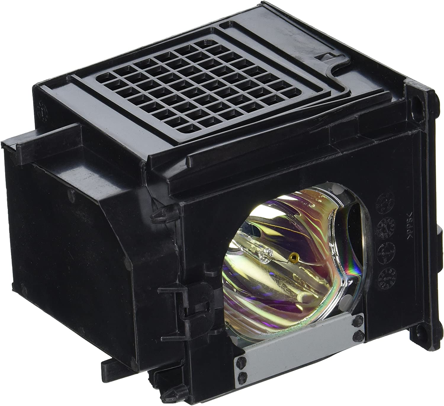Mitsubishi 915P049010 TV Assembly Cage with Projector bulb