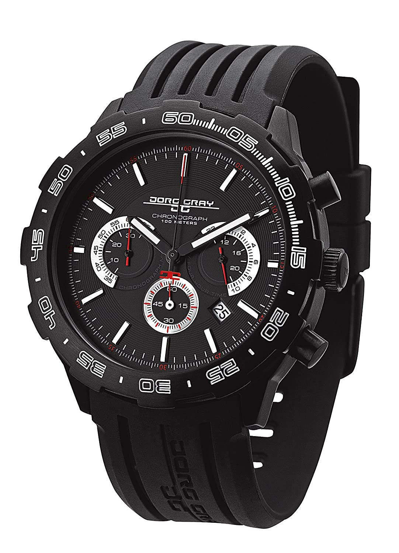 Jorg Gray Herren-Armbanduhr Chronograph Quarz JG1600-12