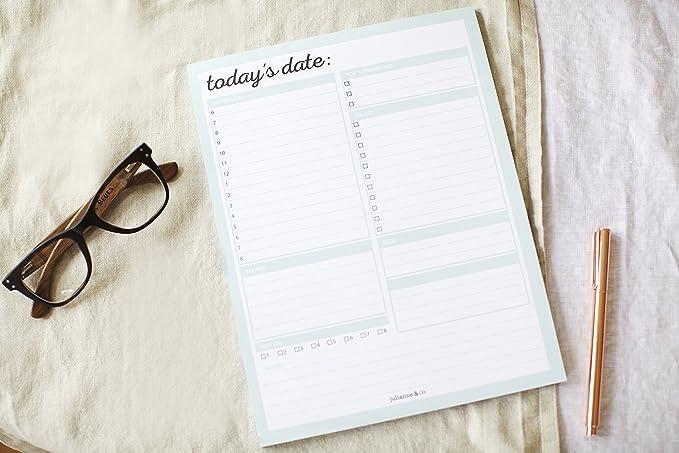 Diario Planificador para listar las tareas: Amazon.es ...