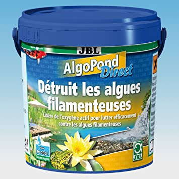 Jbl - Anti Algues Bassin - Algopond Direct - 1 Kg: Amazon.fr: Animalerie