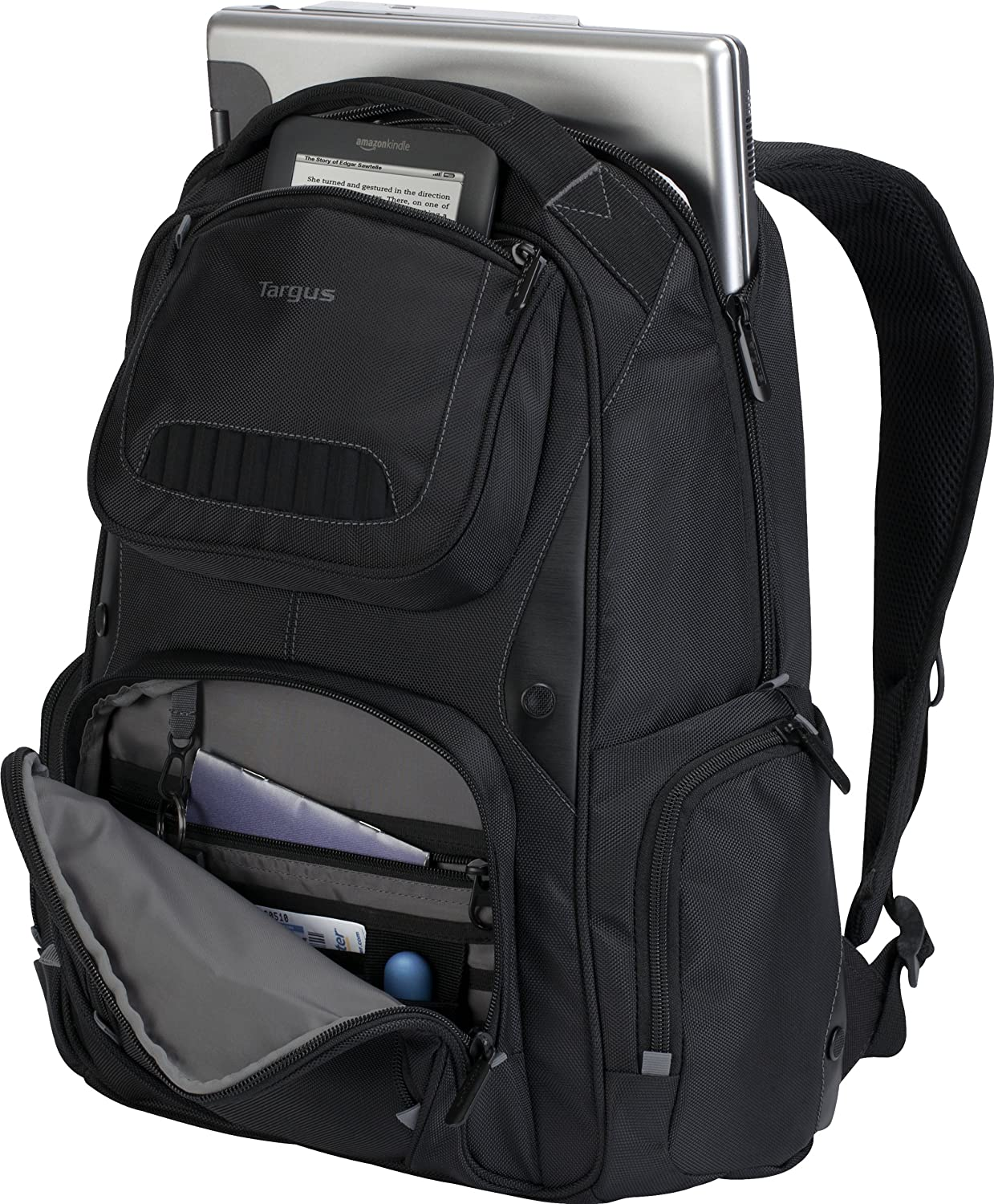 Amazon.com: Targus Legend IQ Backpack Fits up to 16-Inch Laptop ...