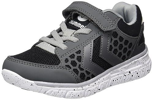 Hummel Crosslite Sneaker Jr, Zapatillas Unisex Niños, Negro (Black/Black), 29 EU