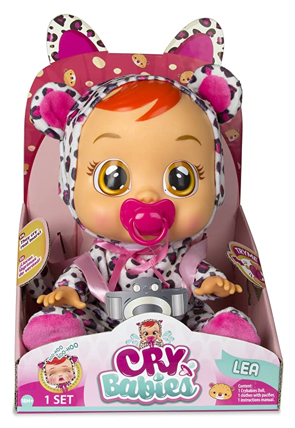 Amazon Cry Babies Lea Baby Doll Toys Games