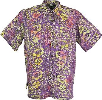 GURU-SHOP - Camisa Casual - para Hombre