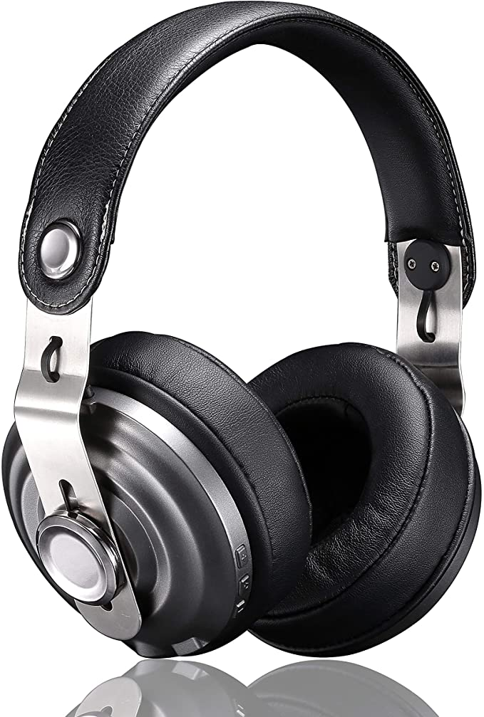 Betron HD800 Bluetooth Over Ear Headphone, High Performance Sound, Built-In Mic And Volume Controls, Includes Hard Carry Case, Compatible with iPhone, iPad and Android Devices