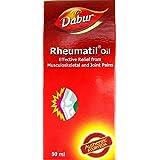 Dabur Ayurvedic Rheumatil Oil - 50Ml (Pack Of 2)