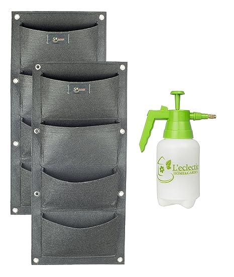Etonnant Best Vertical Garden Kit With Wall Planters U0026 Garden Sprayer For Indoor  Gardening. Use For