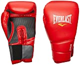 Everlast ProTex2 Training Gloves, 16 oz, Red