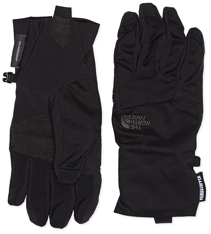 ea893f0b0ef The North Face Men s Quatro Wind Stopper Etip Gloves - TNF Black ...