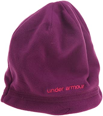 389ca57d956 Under Armour Blustery Women s Beanie Hat - One Purple  Amazon.co.uk ...