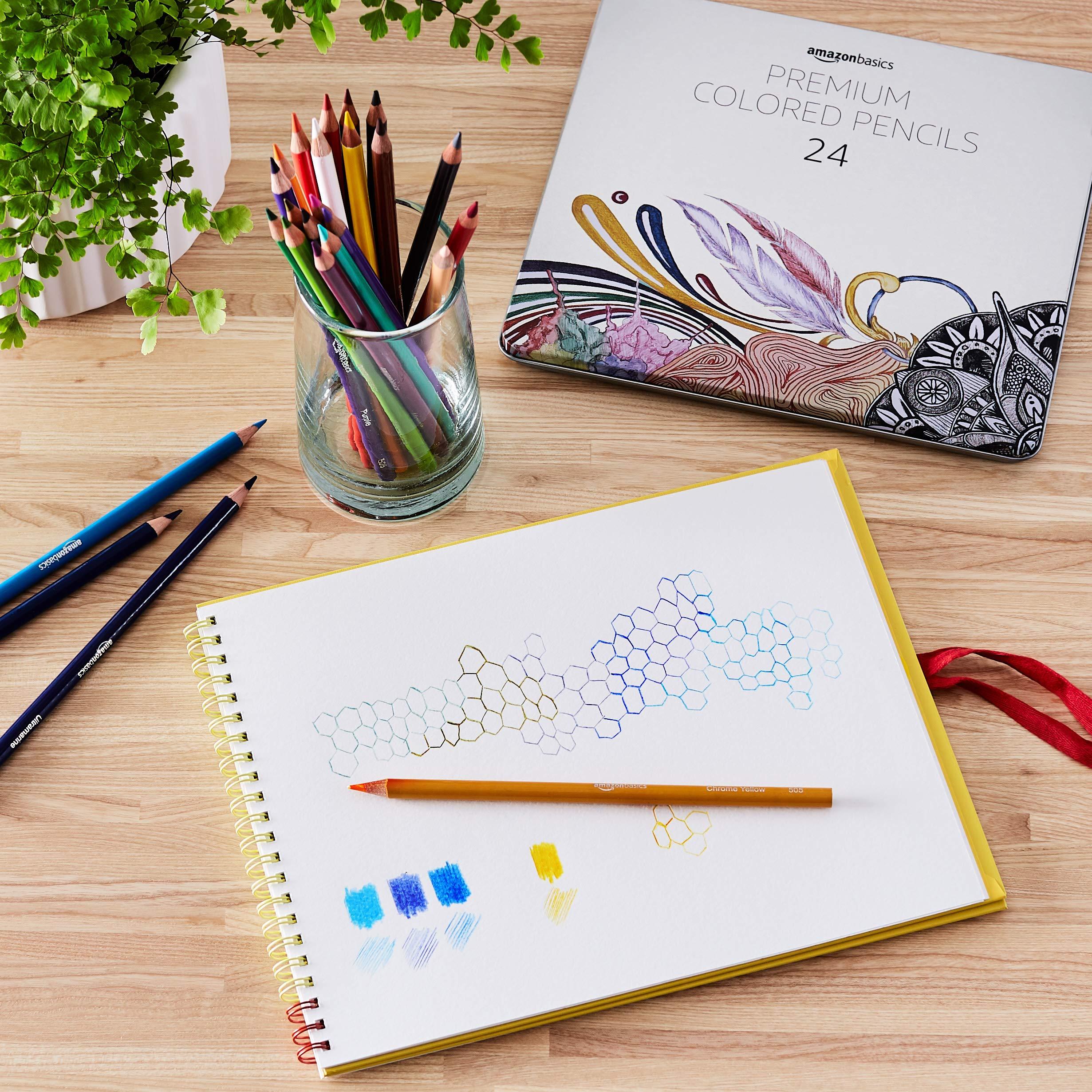 AmazonBasics Colored Pencils - 24-Count by AmazonBasics (Image #2)