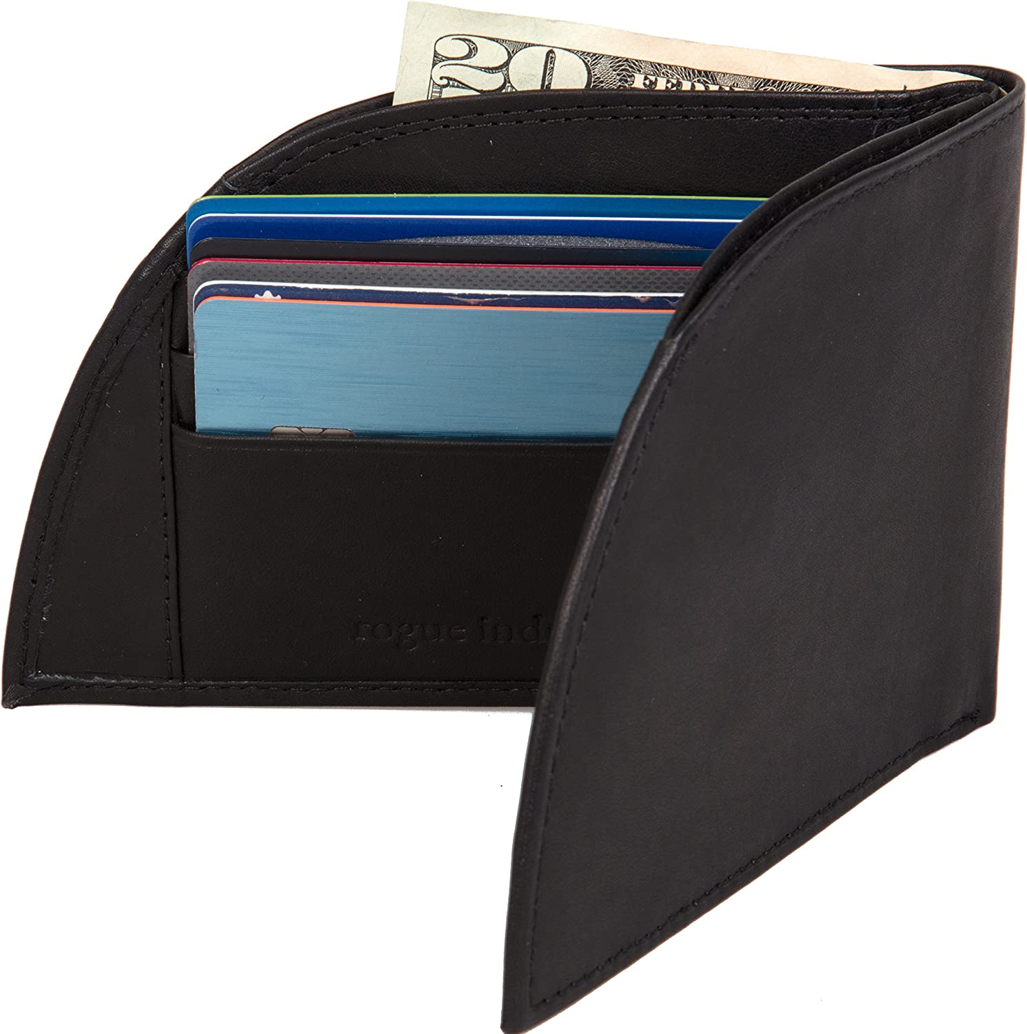 Front Pocket Wallet by Rogue Industries Classic Wallet in Genuine Top Grain