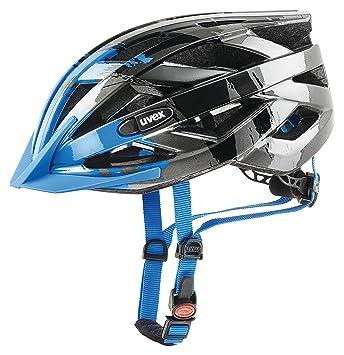 Uvex I-Vo C Casco de Ciclismo, Unisex Adulto, Azul, 52-