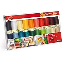 Gutermann 734610-1 Sew-All - Juego de 20 carretes (100 m), multicolor