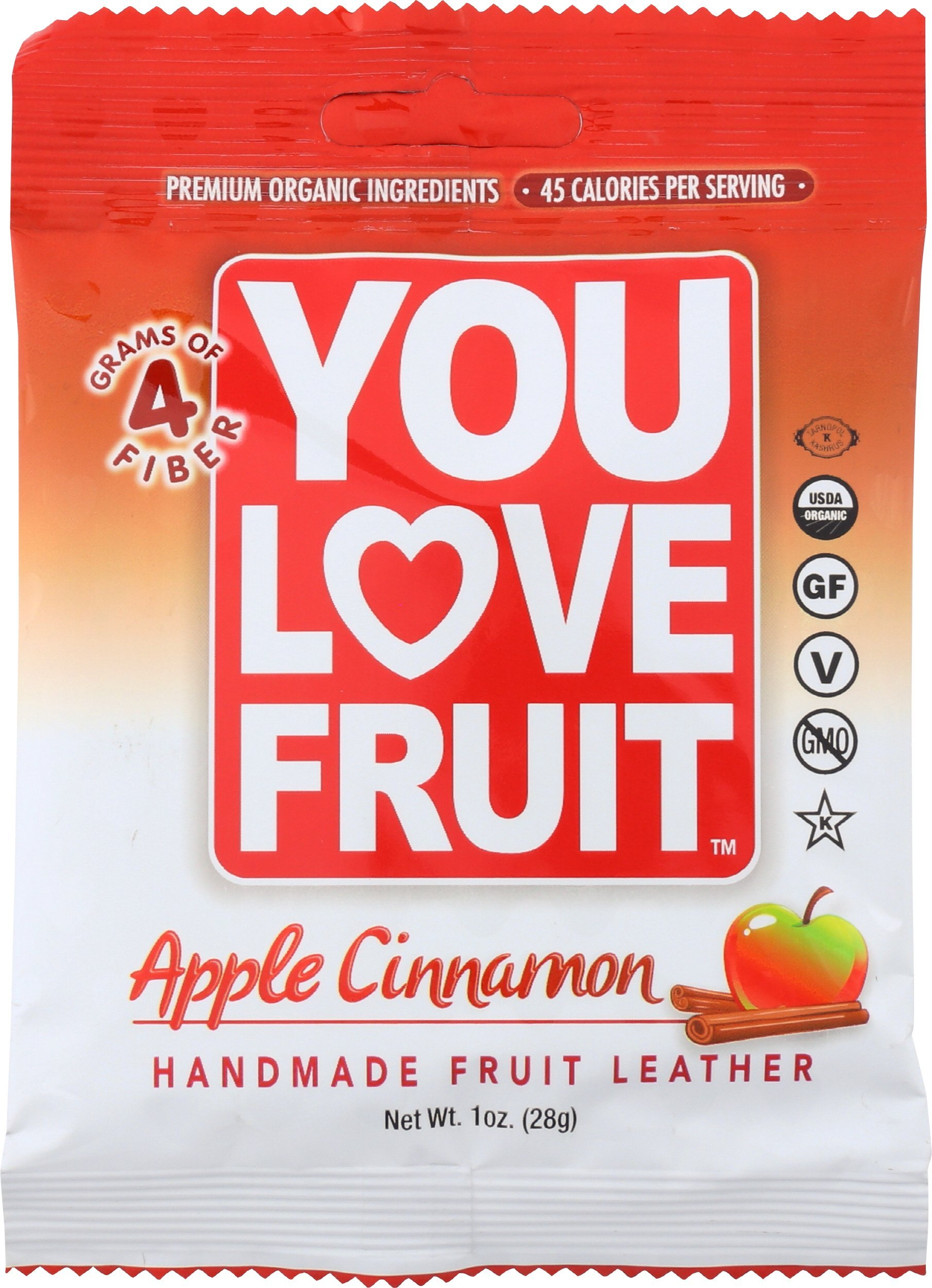 You Love Fruit Leather Apple Cinna, 1 oz