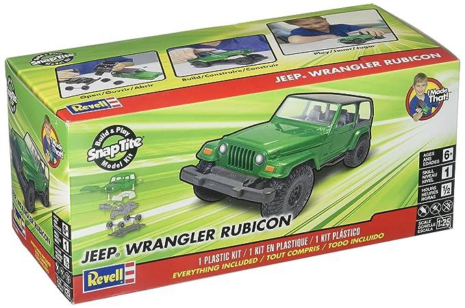 Amazon Com Revell Snaptite Build Play 04 Jeep Wrangle Rubicon
