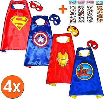 Robin Batman Super Héroes de disfraces para niños - Cape y máscara ...