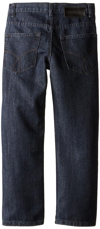 Calvin Klein Big Boys' Rebel Slim Straight Denim Jean 35665001