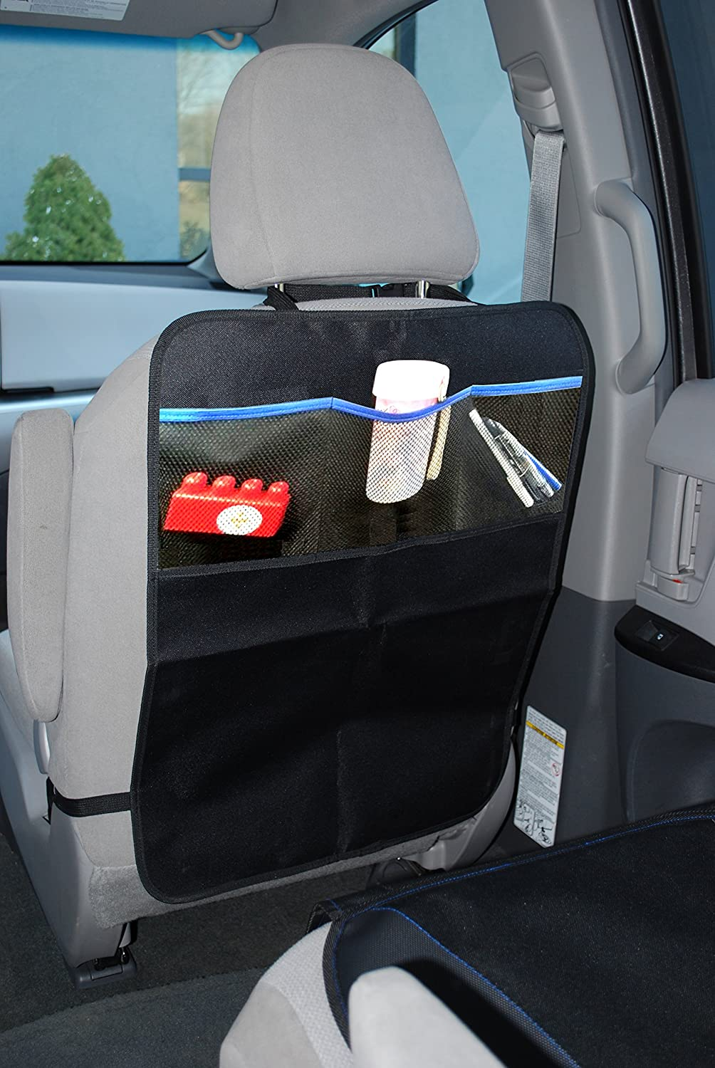 Car Seat Protector Kick Mat Back Set Perfect CarSeat Fits