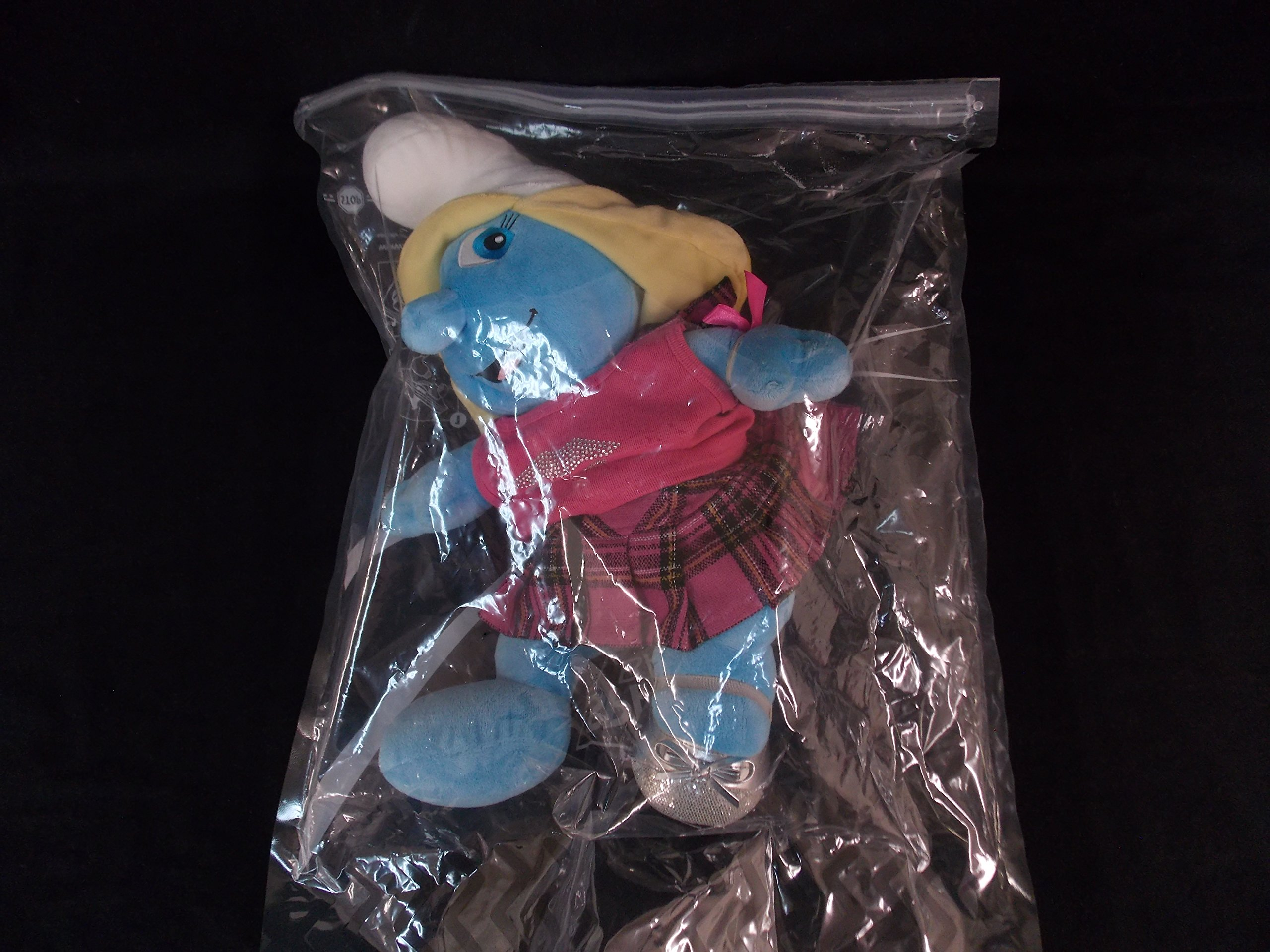 Build-A-Bear 18'' Smurf with Tank Top+Skirt+Bow Bracelet+ Single Shoes by Build A Bear