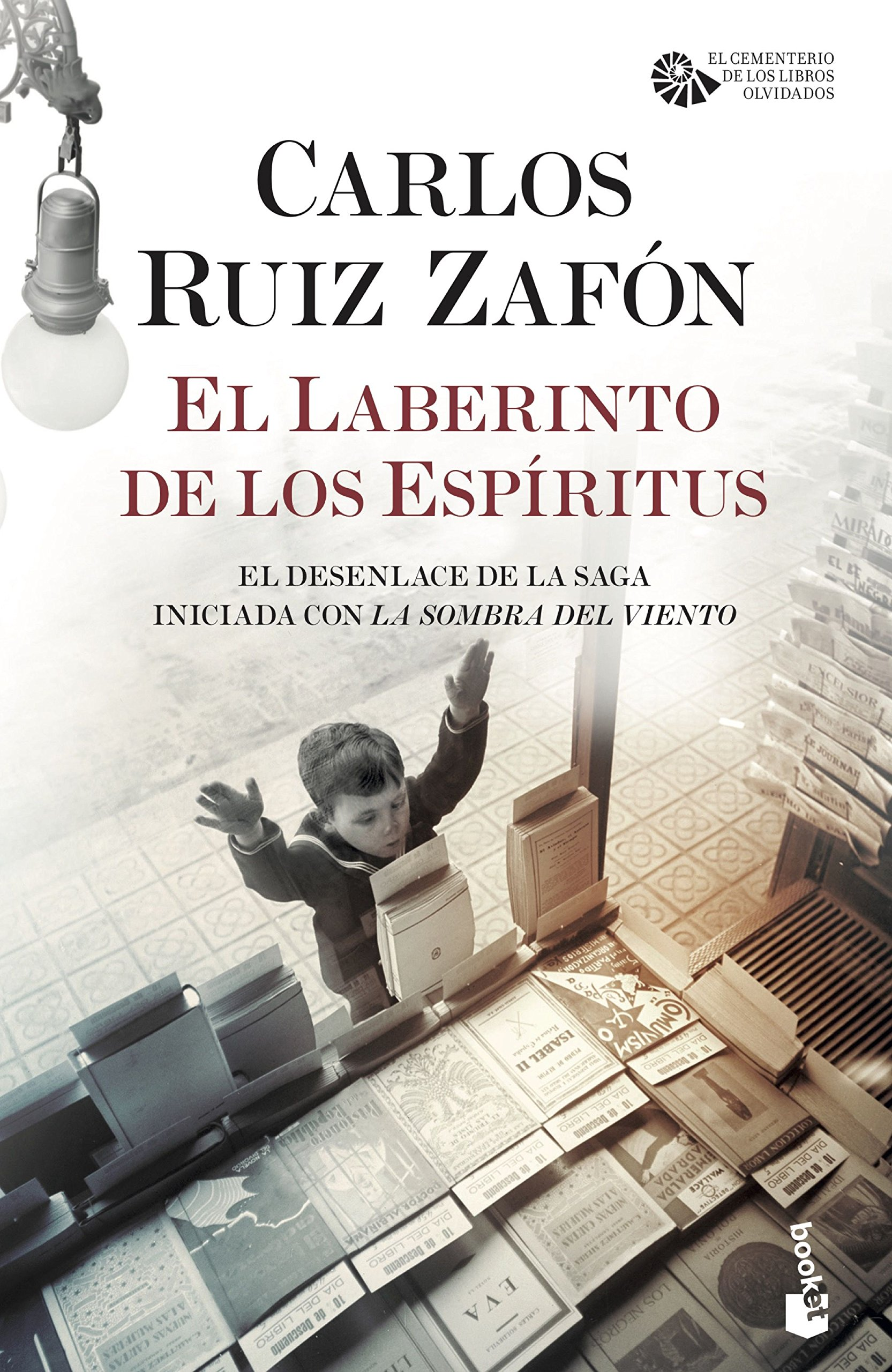 El Laberinto de los Espíritus Biblioteca Carlos Ruiz Zafón: Amazon.es: Carlos  Ruiz Zafón: Libros