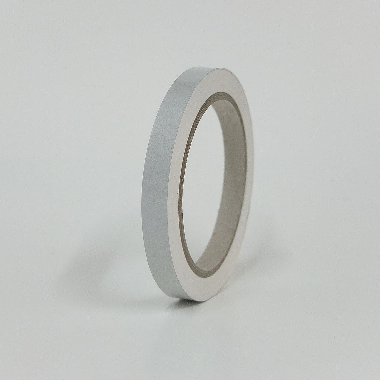 3M Reflektorband reflektierend selbstklebend Reflexfolie Silber 20mm x 10 Meter