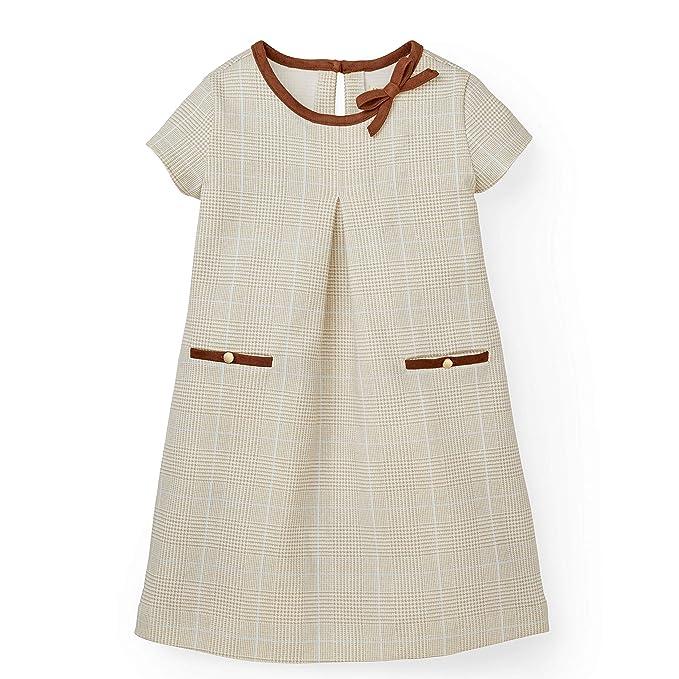 Vintage Style Children's Clothing: Girls, Boys, Baby, Toddler Hope & Henry Girls Ponte A-Line Dress $25.95 AT vintagedancer.com