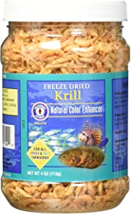 San Francisco Bay Brand Asf71340 Freeze Dried Krill For Fresh And Saltwater Carnivores, 113Gm