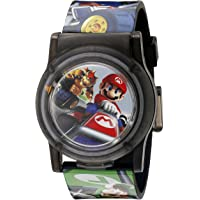 Nintendo Kids' NMK3403 Digital Display Analog Quartz Multi-Color Watch