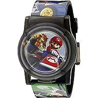 Nintendo Kids' Digital Display Analog Quartz Multi-Color Watch