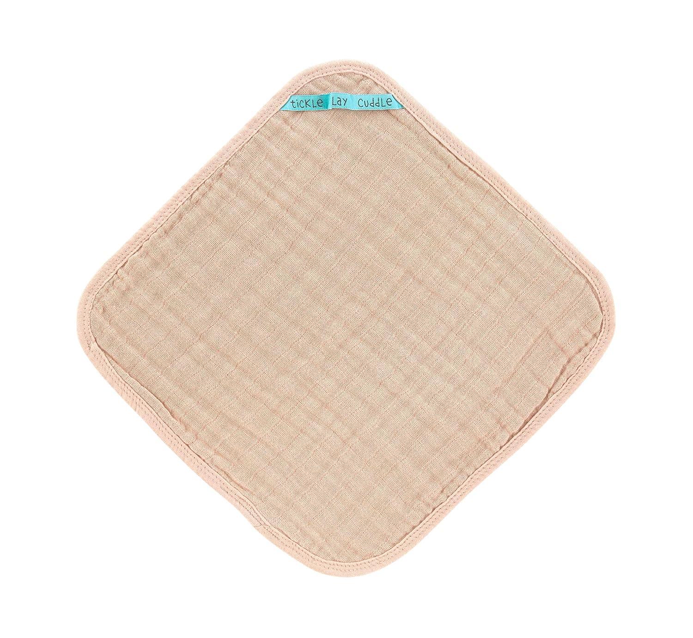 L/ÄSSIG Waschlappen Muslin Baumwolle 3er Set//Wash Cloth grau