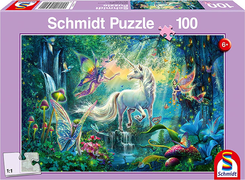 56161 Schmidt Puzzle Cavalli al Ruscello 150 Pezzi