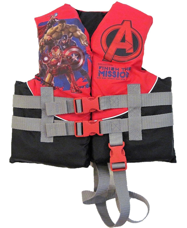 Exxel Outdoors Marvel Avengers Assembleの子のライフジャケット/ベスト30 – 50lbs   B01M1JV7C2