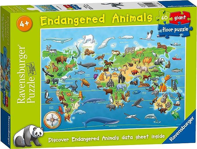 Ravensburger Rompecabezas de 60 Piezas para niños de 4 años en adelante (5515): Amazon.es: Juguetes y juegos