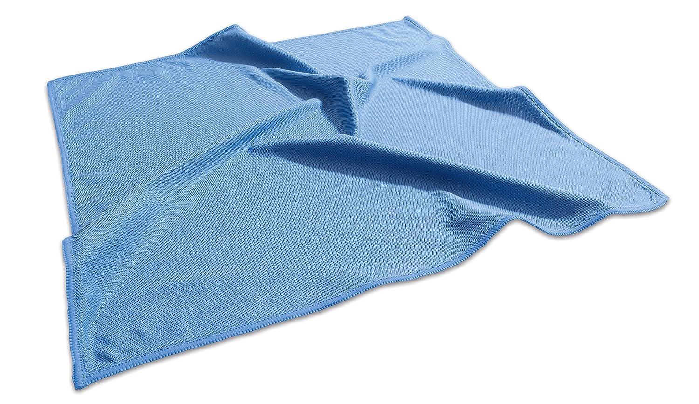 Sigel GL189 Panno in microfibra Delta, blu, per pulire le lavagne magnetiche di vetro, 40 x 40 cm