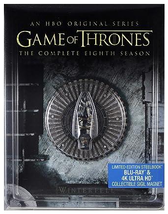 Juego de tronos Season 8 Steelbook 4K UHD BOX 4Blu-Ray Region Free ...