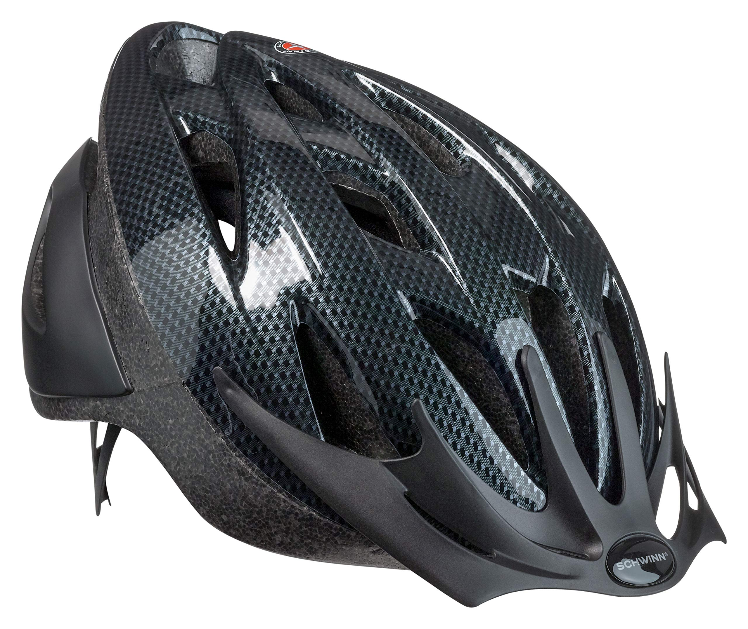 Schwinn Thrasher Lightweight Microshell Bicycle Helmet Featuring 360 Degree Comfort System with Dial-Fit Adjustment, Sizes for Adults, Youth, and Children product image
