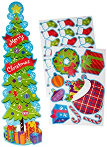 Eureka Christmas and Holiday Season School and Classroom Door Décor Kit, 33pc