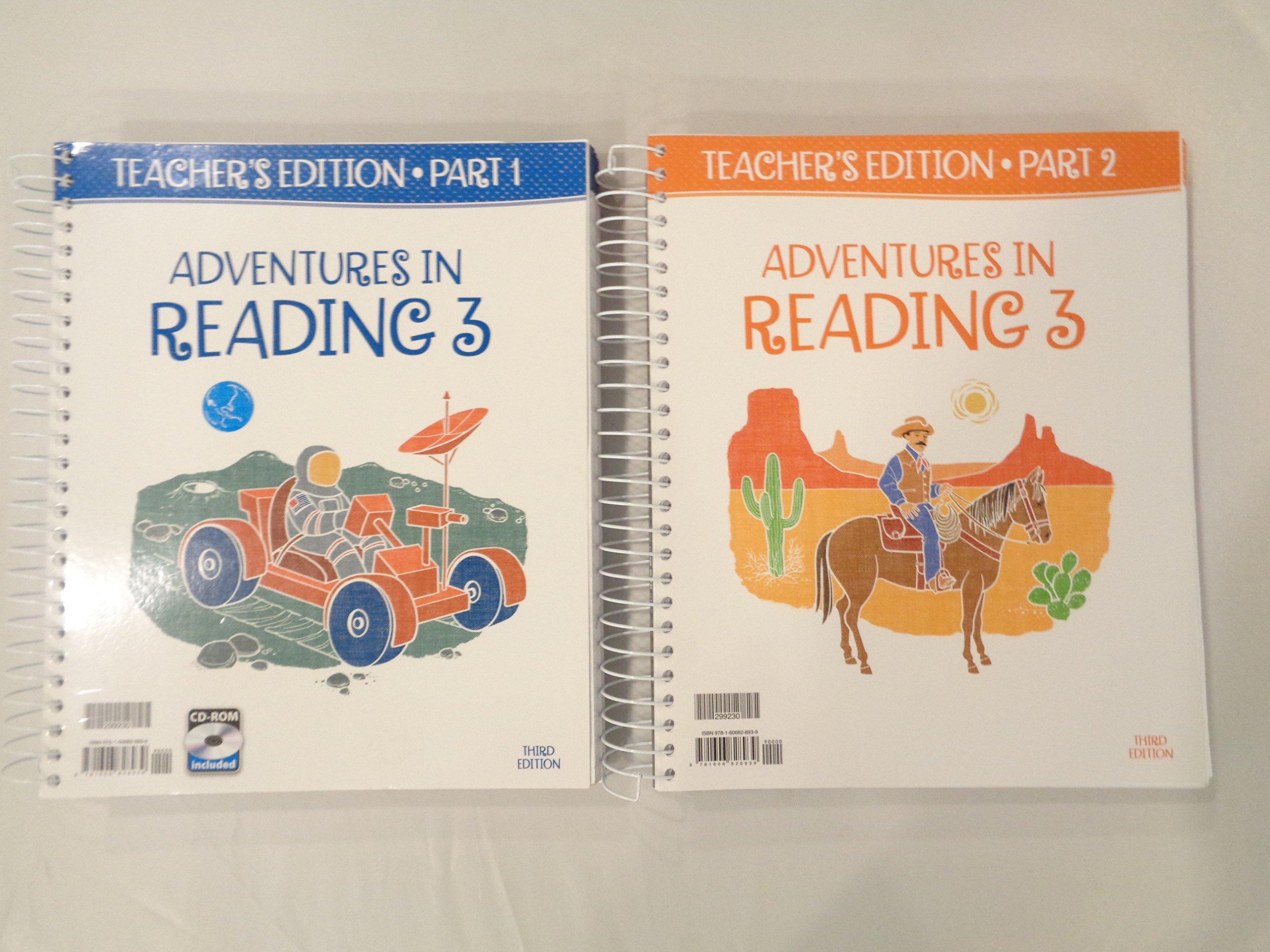 Adventures In Reading 3 Teachers Edition Part 1 2 9781606828939 Amazon Com Books