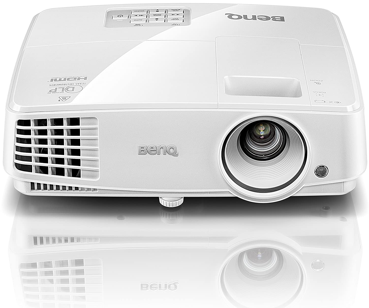 BenQ TH530 Full HD 3D DLP-Projektor (Full HD, 3200 ANSI Lumen, 10000:1 Kontrast)