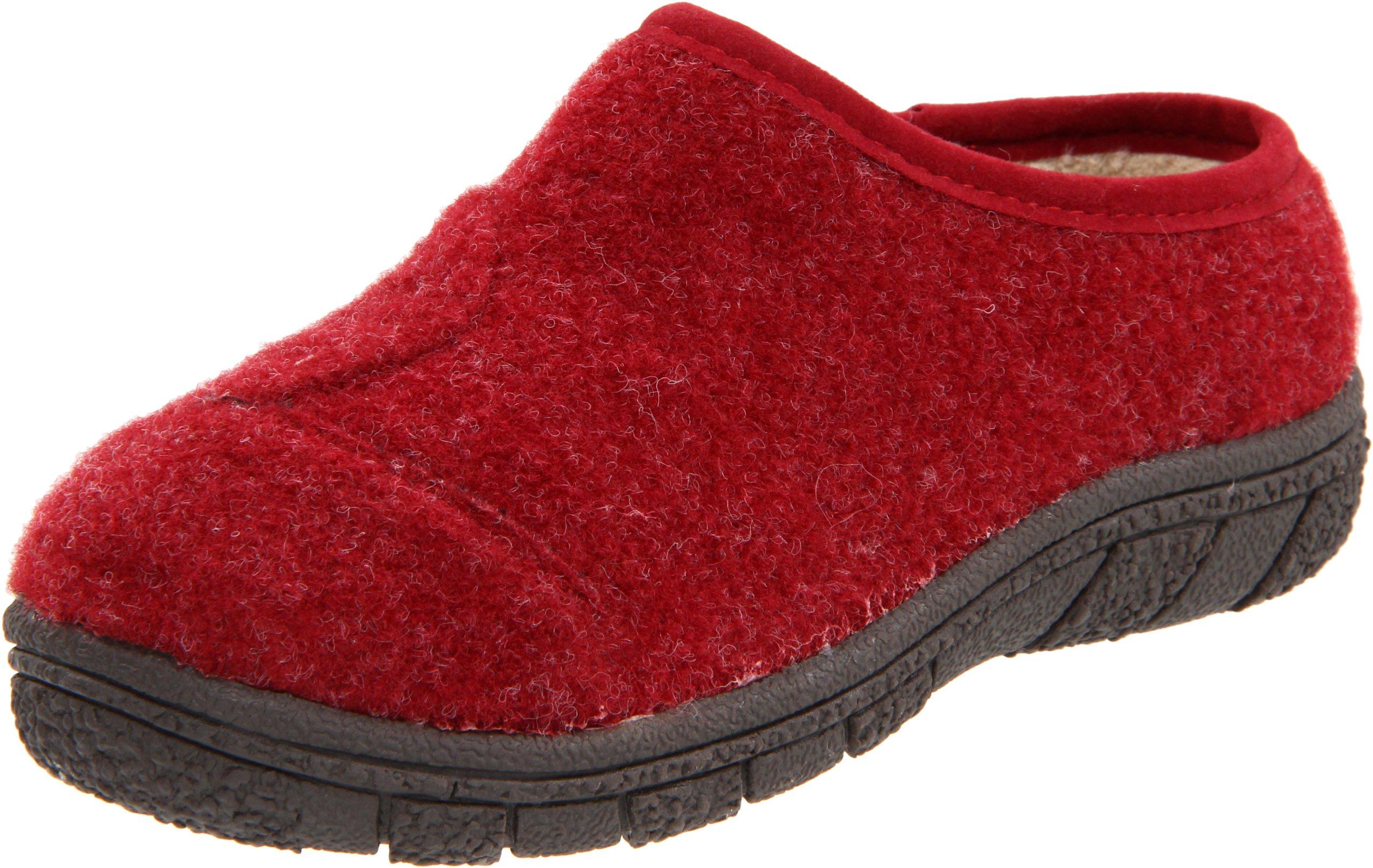 Willits Tidal Clog (Toddler/Little Kid/Big Kid),Cranberry Boiled Wool,2 M US Little Kid