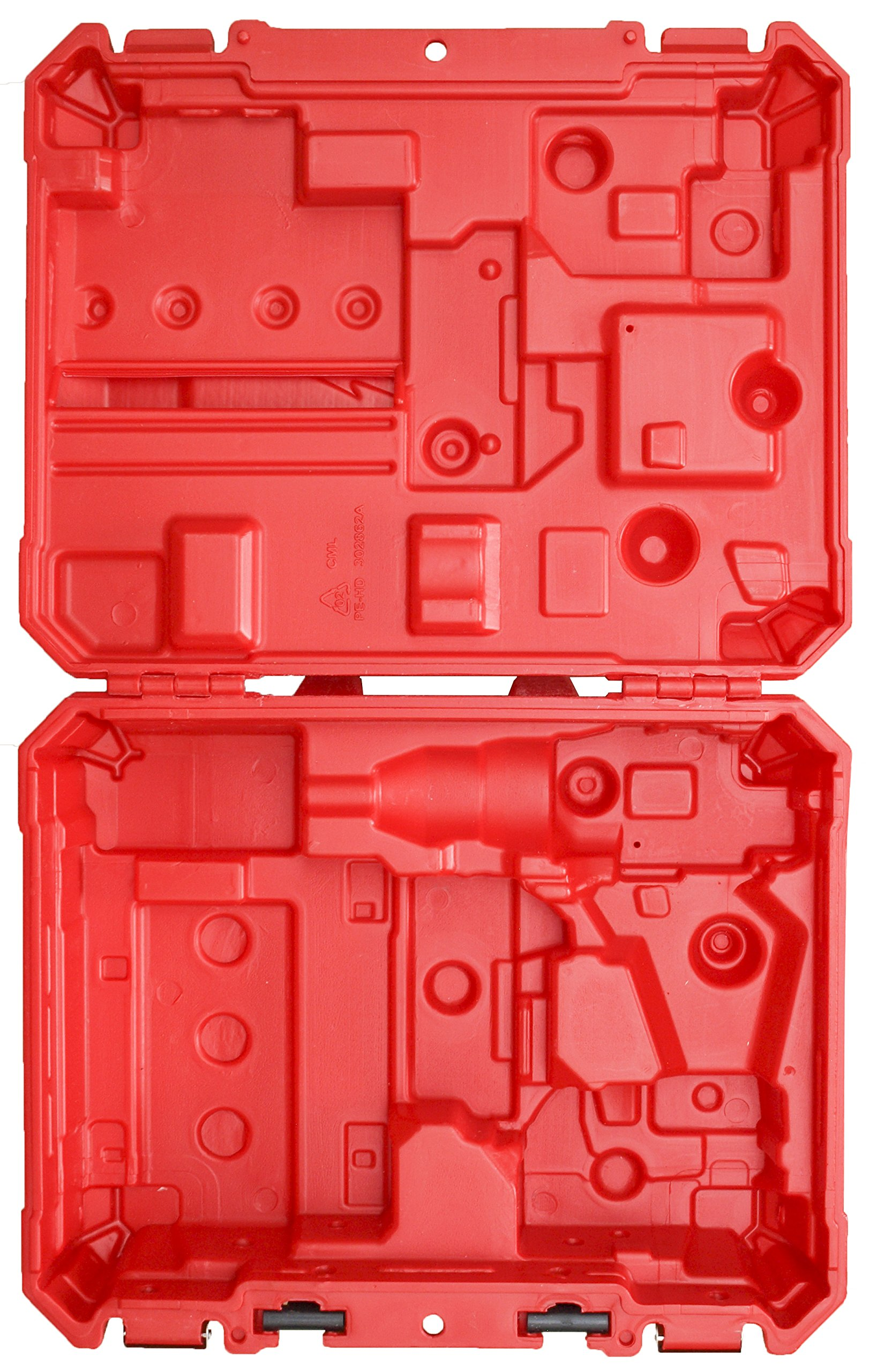 Milwaukee Tool Case Only - Fits 2606-20 / 2607-20 / 2606-22CT / 2607-22CT M18 Drill Driver / Hammer Drill Driver (No Tools / Accessories Included)