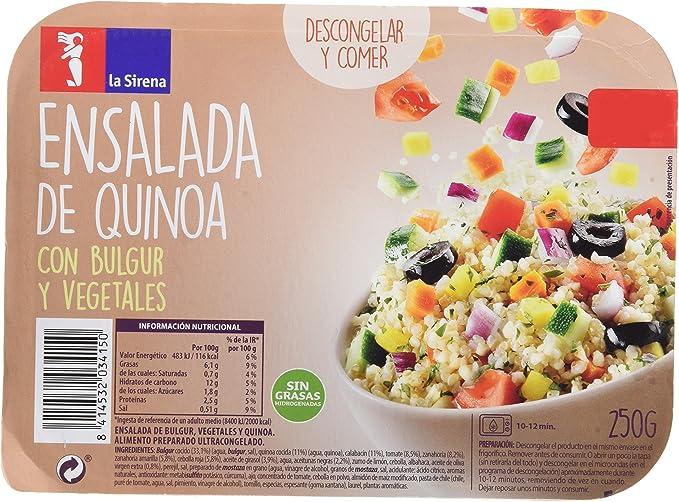 La Sirena, Listísimos, Ensalada Quinoa y Bulgur, 250 g ...