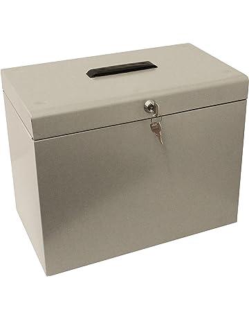 Amazon.es: Cajas de almacenaje: Oficina y papelería