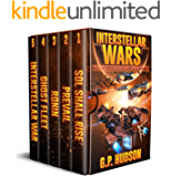 Interstellar Wars - Pike Chronicles Box Set Books 1-5 - A Space Opera Adventure: Sol Shall Rise, Book 1 - Prevail, Book…