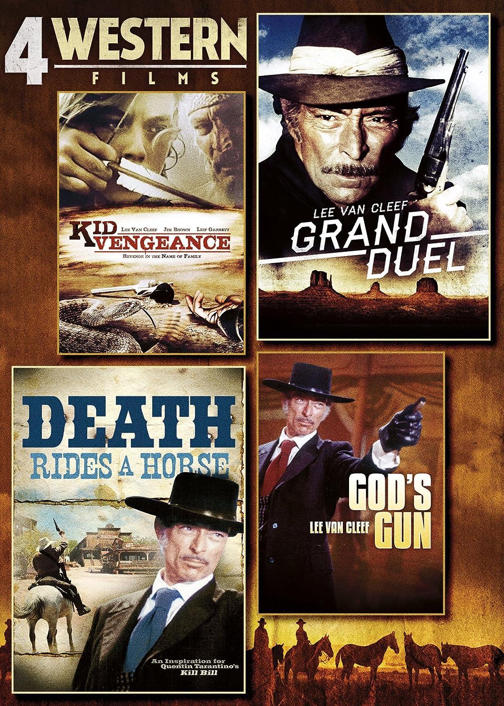 4-Film Western Pack 1 / Full Ws DVD Region 1 NTSC US Import ...
