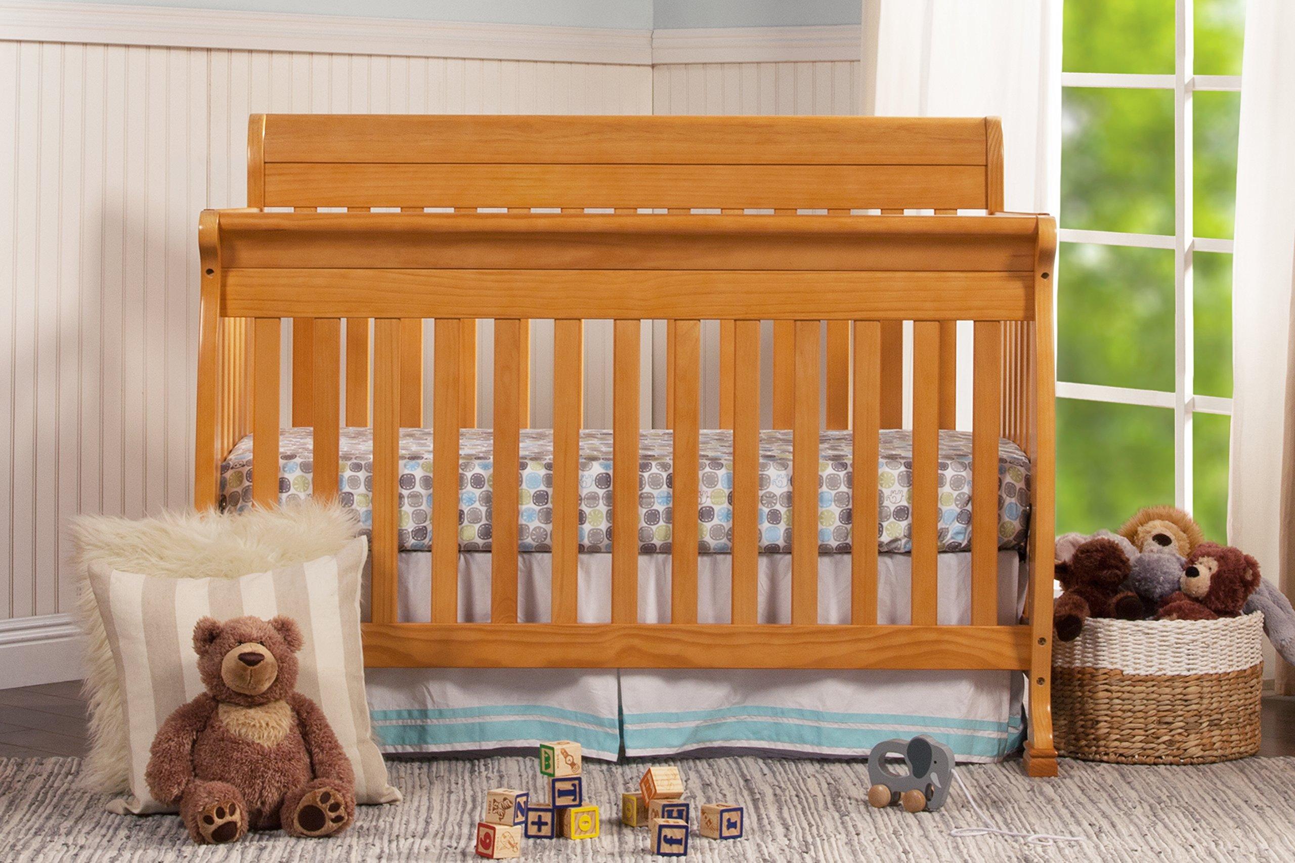 DaVinci Kalani 4-In-1 Convertible Crib, Honey Oak by DaVinci (Image #3)