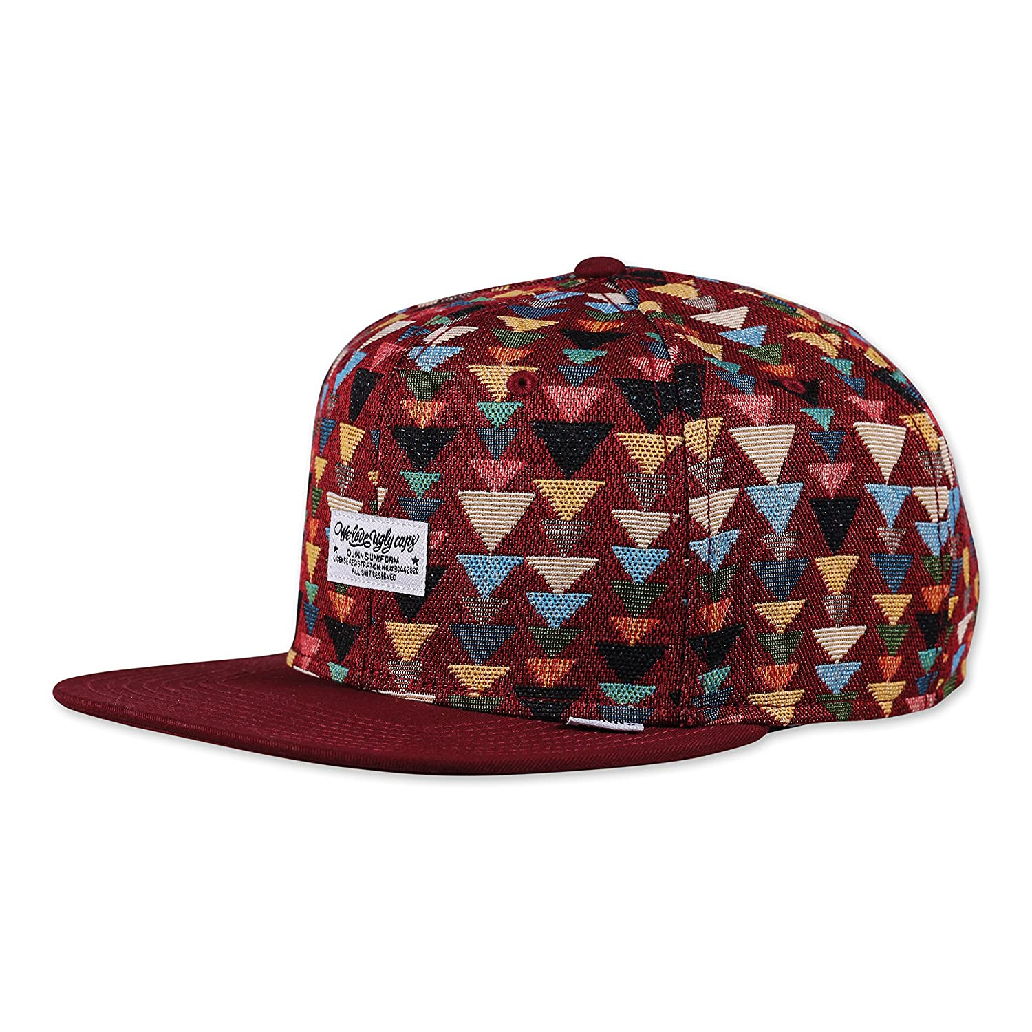 Djinns We Love Ugly Triangle - Snapback Cap Baseballcap Hat Kappe Mütze Caps