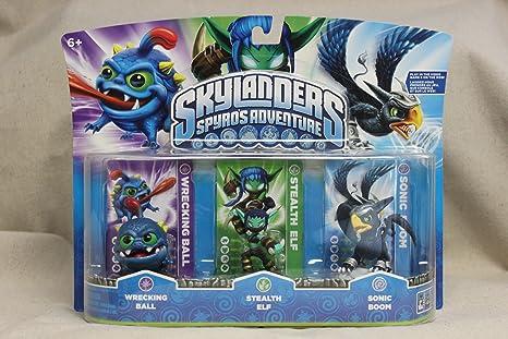 Stealth Elf Skylanders Spyro/'s Adventure Wrecking Ball Sonic Boom